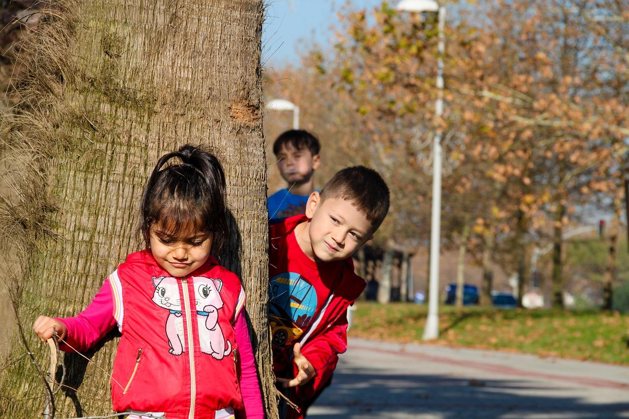 children children playing girl free photo