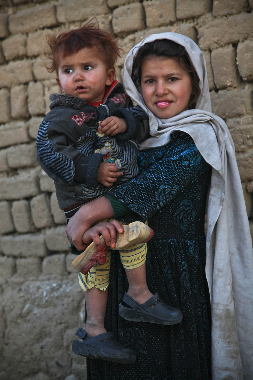 children cute afghanistan free photo