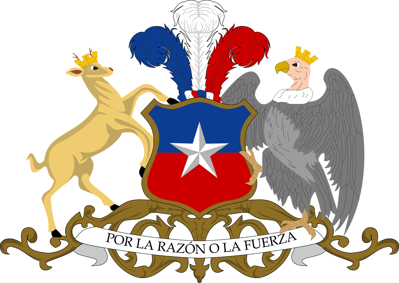 chile coat arms free photo