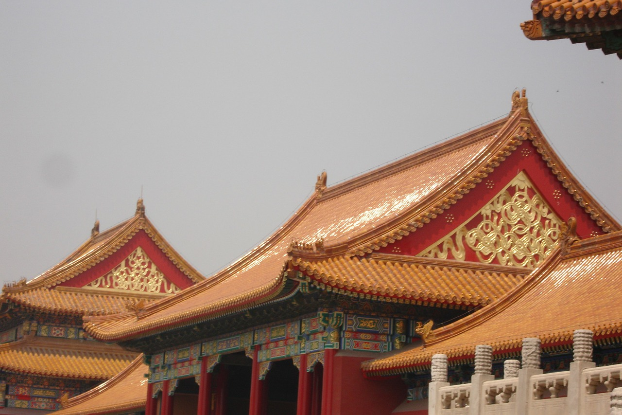china beijing forbidden city free photo