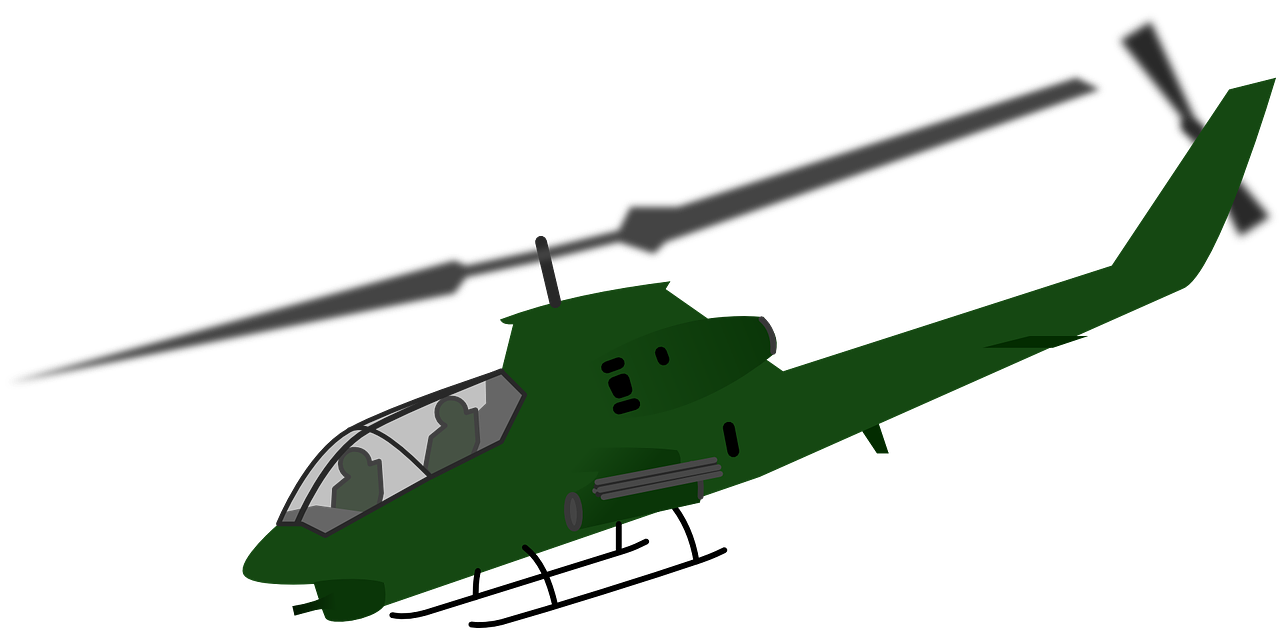 chopper helicopter military free photo