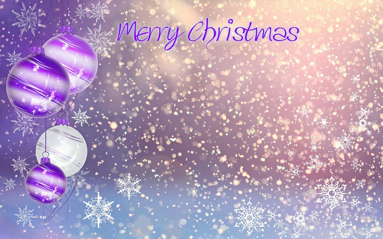 Christbaumkugeln Magenta.Kalėdos Kalėdinis Atvirukas Tekstūra Linksmų Kalėdų Medžio