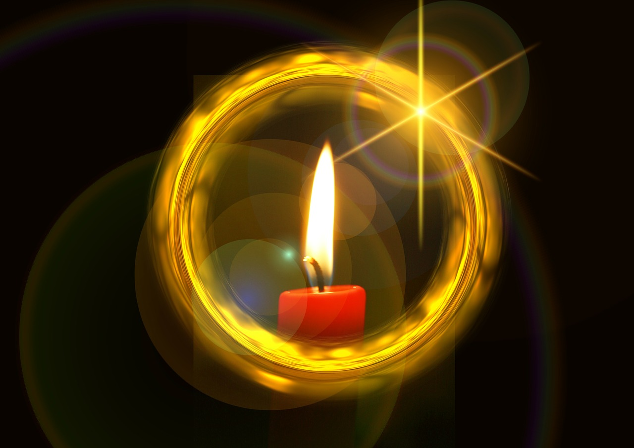 christmas candle advent free photo