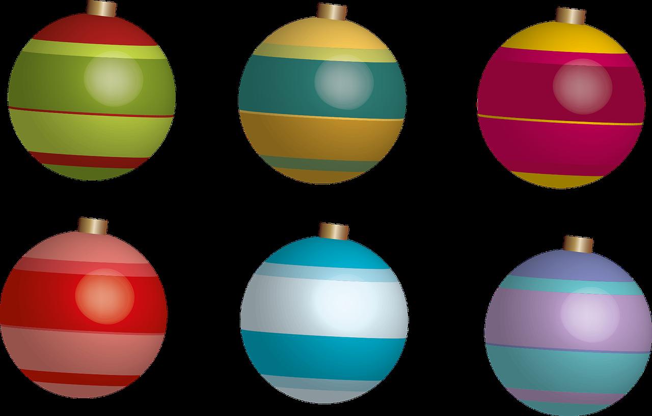 Transparente Christbaumkugeln.Kalėdiniai Kamuoliai Kalėdos Christbaumkugeln šventiniai Dekoracijos