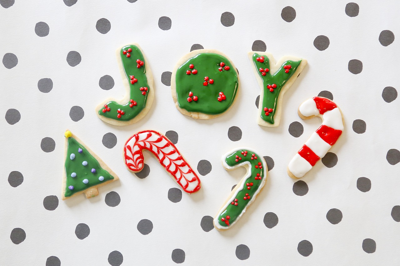 christmas cookies cookies joy free photo
