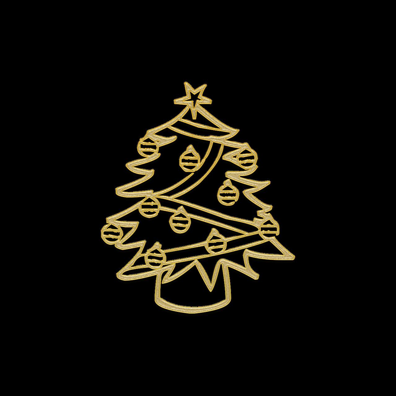 christmas tree christmas decorations new years eve - Yellow Christmas Decorations