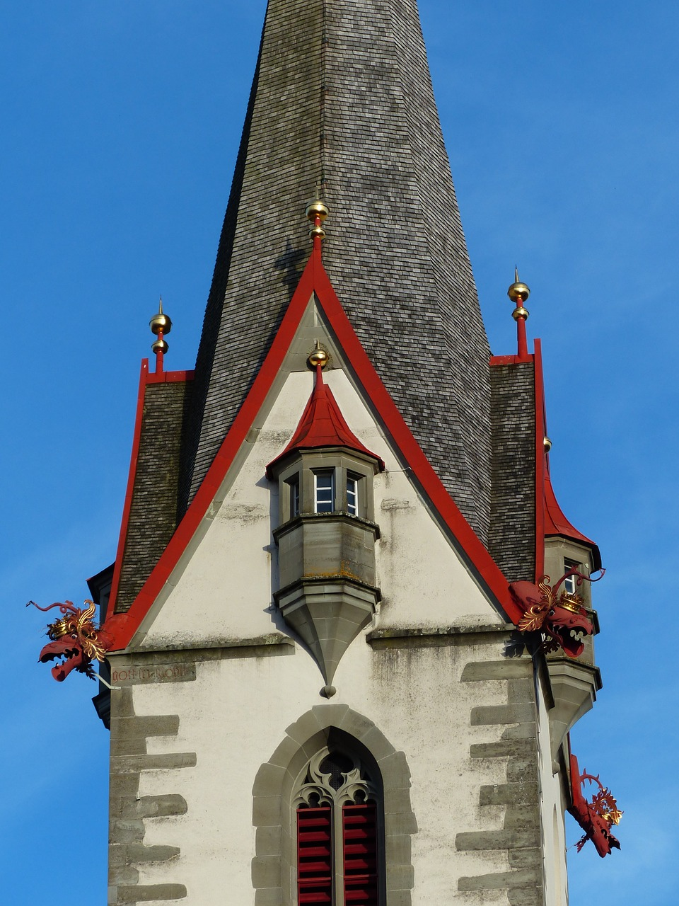church steeple stone most pure free photo
