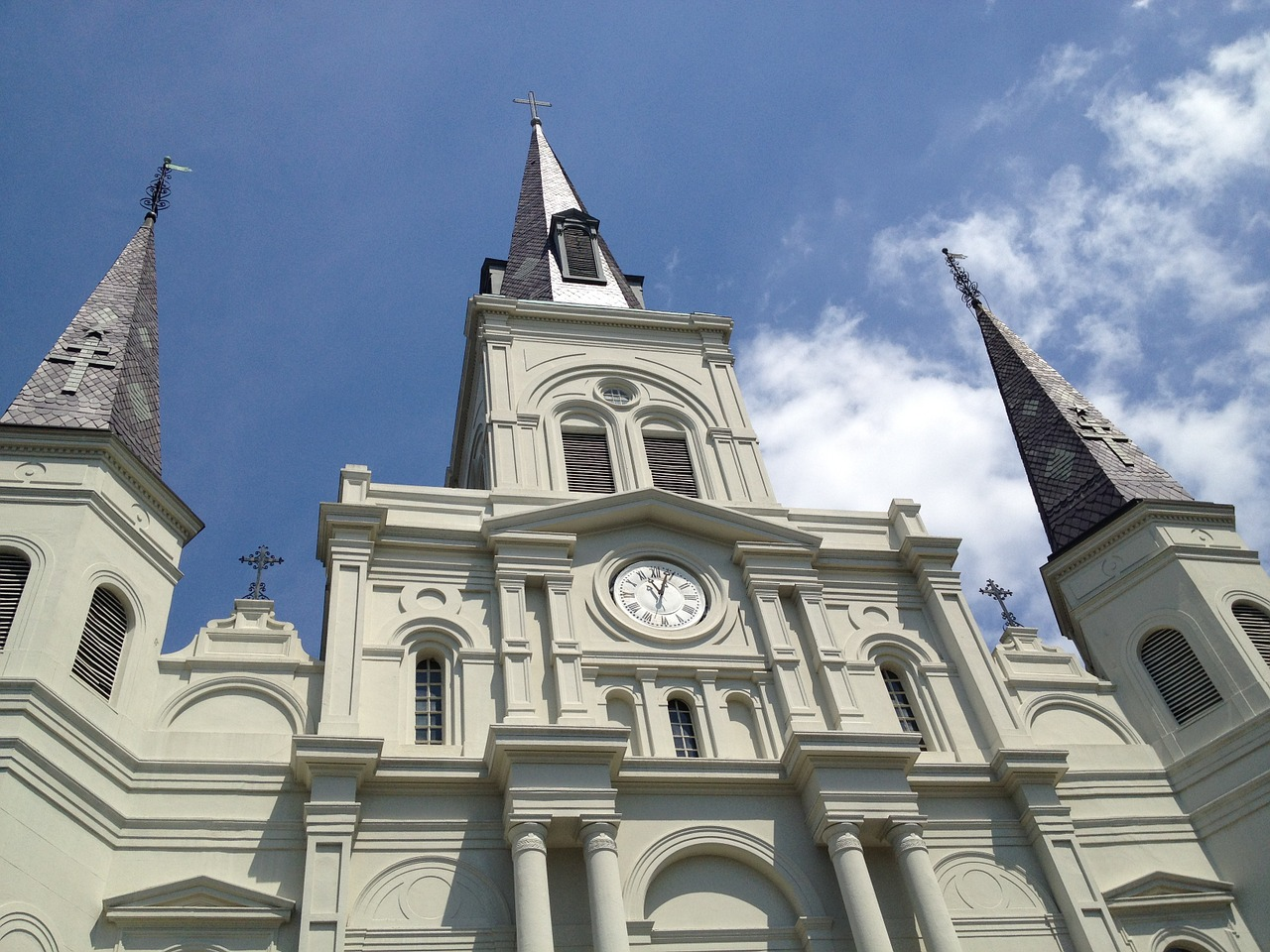 church new orleans cathedral free photo