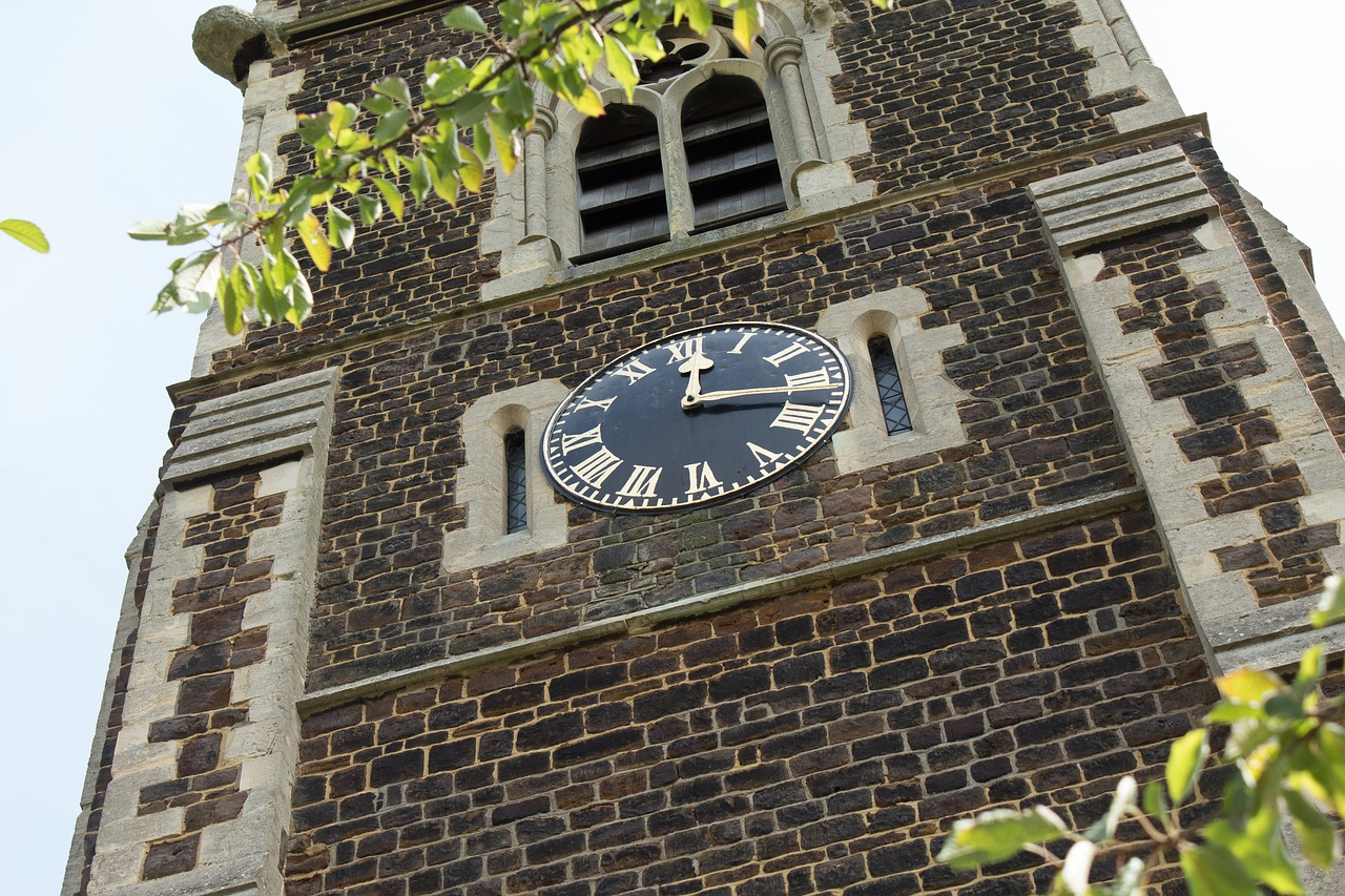 church church tower church clock tower free photo