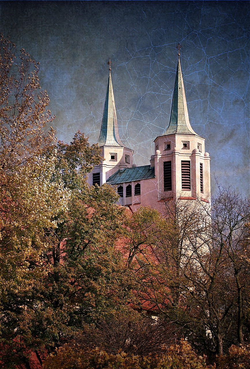 church towers picture free photo