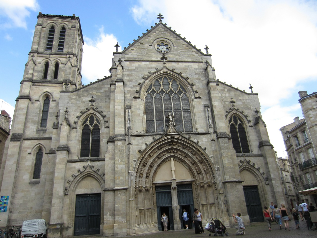 church of st pierre bordeaux religion free photo