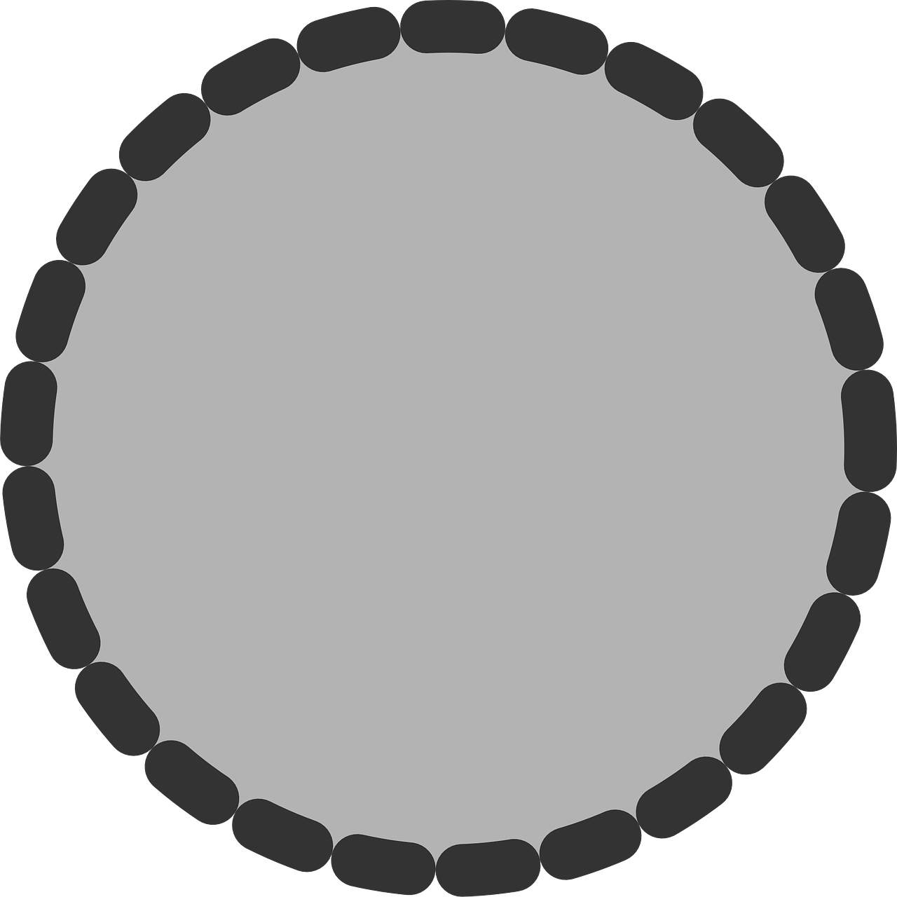 circle round shape free photo