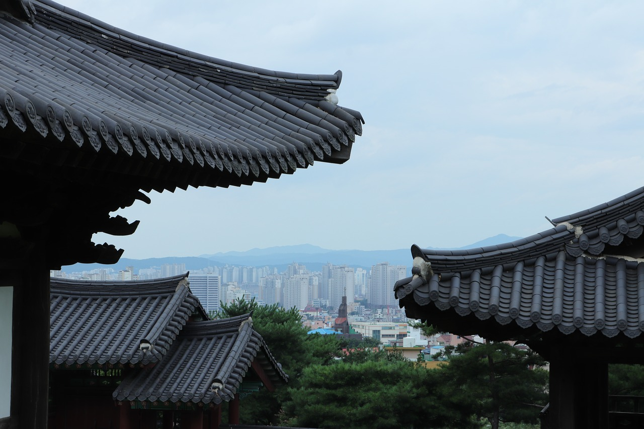 city,church,roof,blue,gray,black,white,korea,korean,tradition,traditional,tree,leaf,leaves,plant,plants,mountain,daejeon,landscape,scenery,sleepy,russian blue,soft,far,away,cold,cool,grey,white color,republic of korea,south,south korea's,wood,house,home,hanok,this safari,these people,the leaves,war,view,fatigue,sleepiness,zzz,russia,russian,free pictures, free photos, free images, royalty free, free illustrations