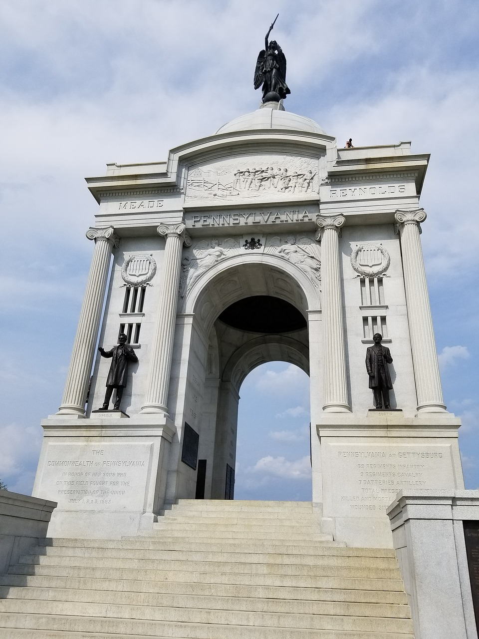 civil war  monument  memorial free photo