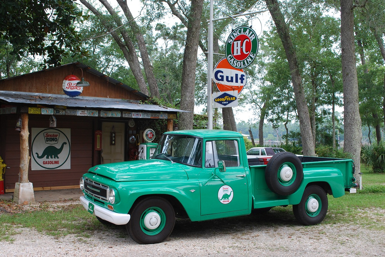 classic cars truck automobile free photo
