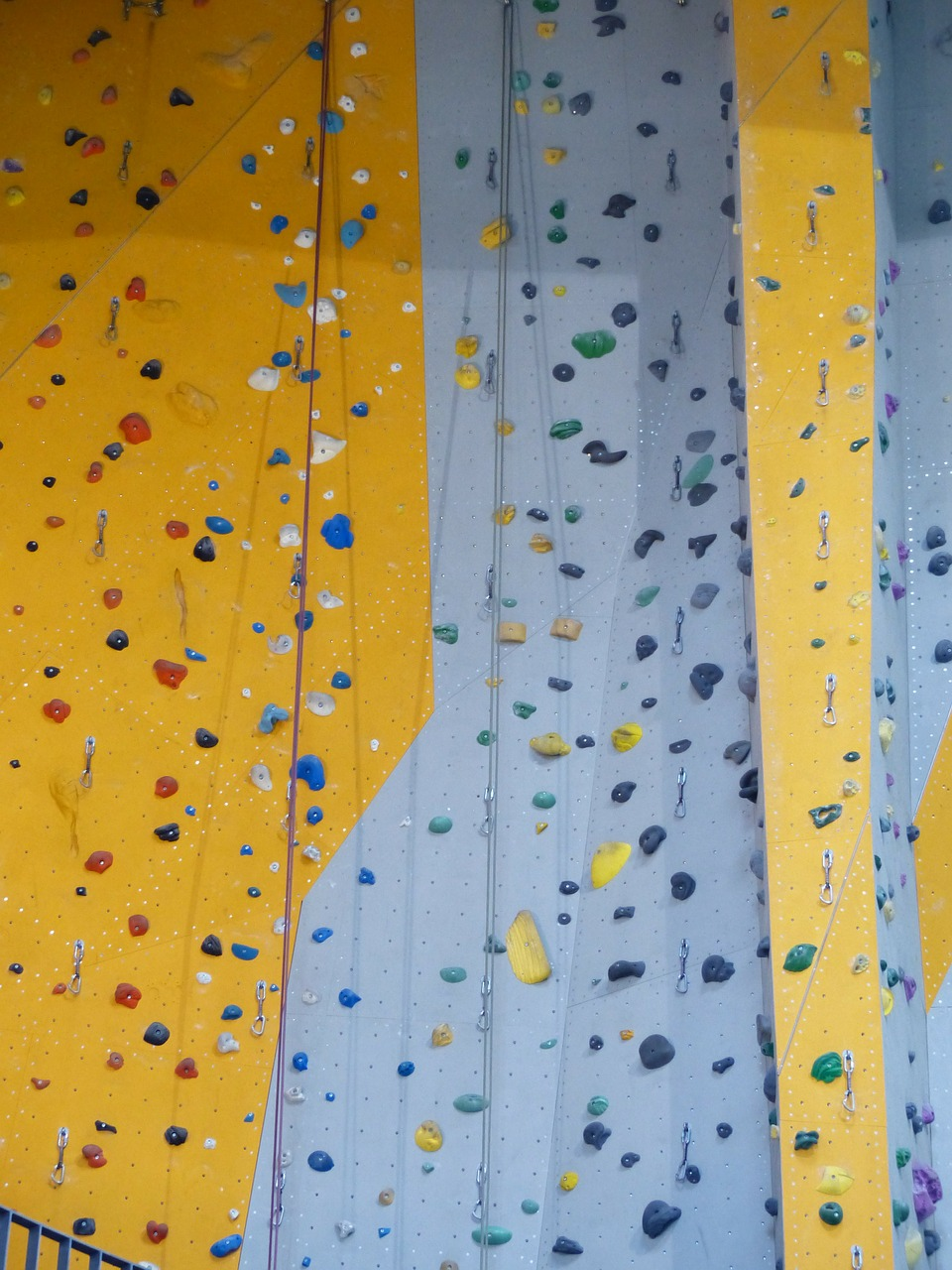 climbing routes climbing hall steep free photo