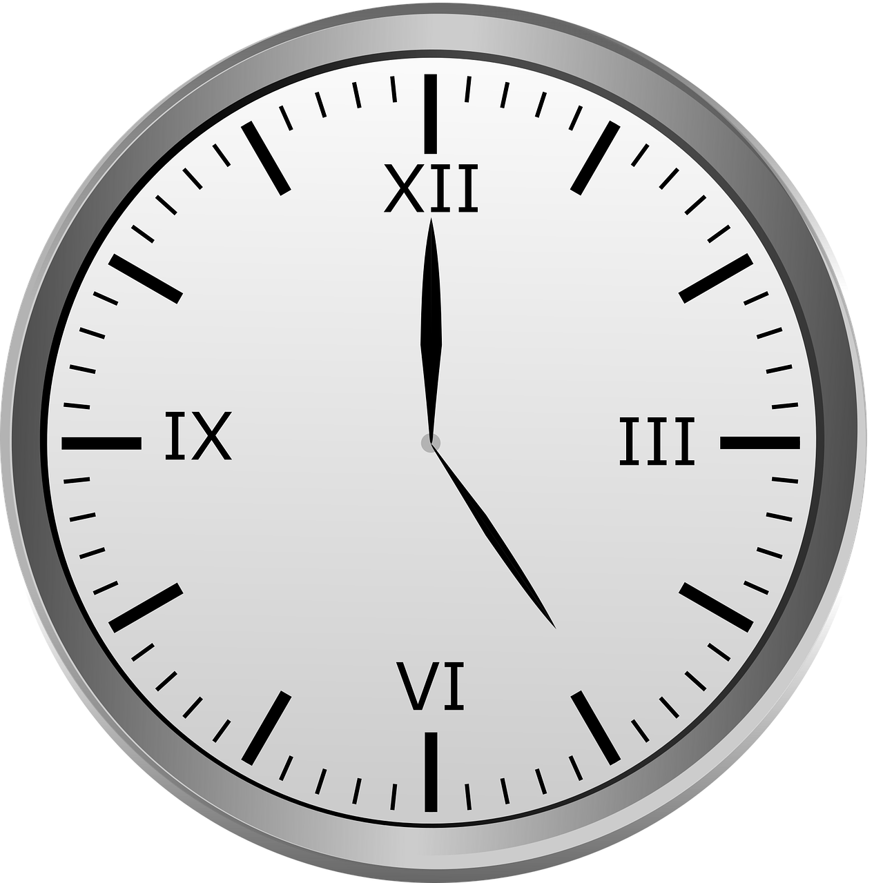 clock roman numerals time of free photo