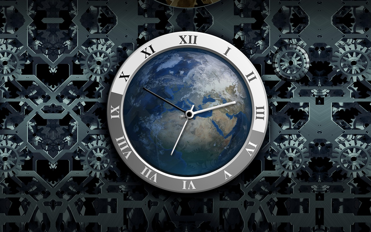 clock movement time free photo
