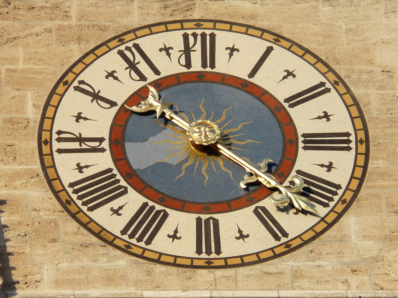clock clock face time free photo