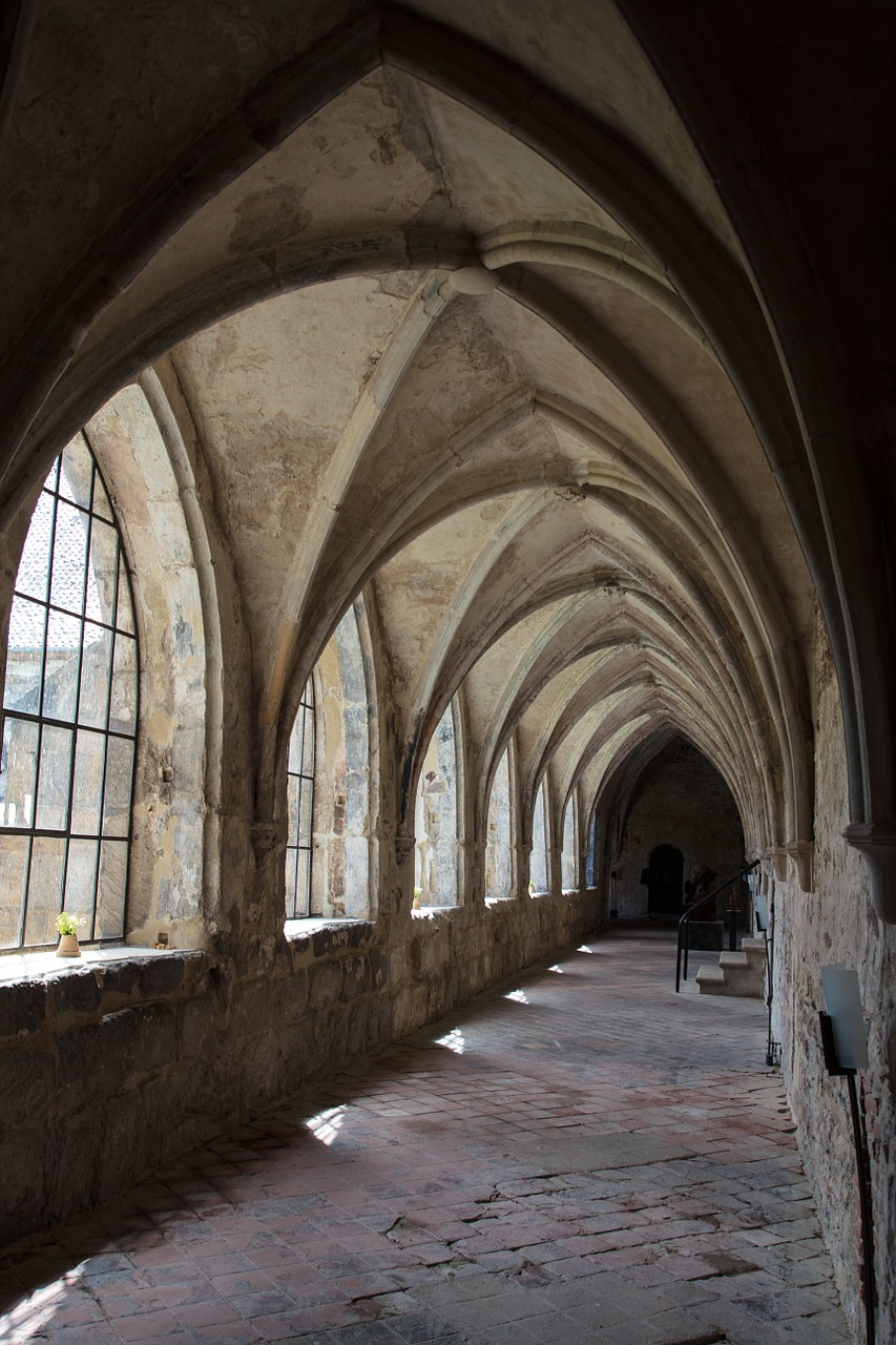 cloister monastery gang free photo