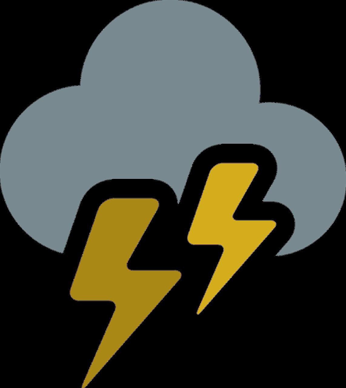 Cloudthunderelectricstormrain Free Photo From Needpix
