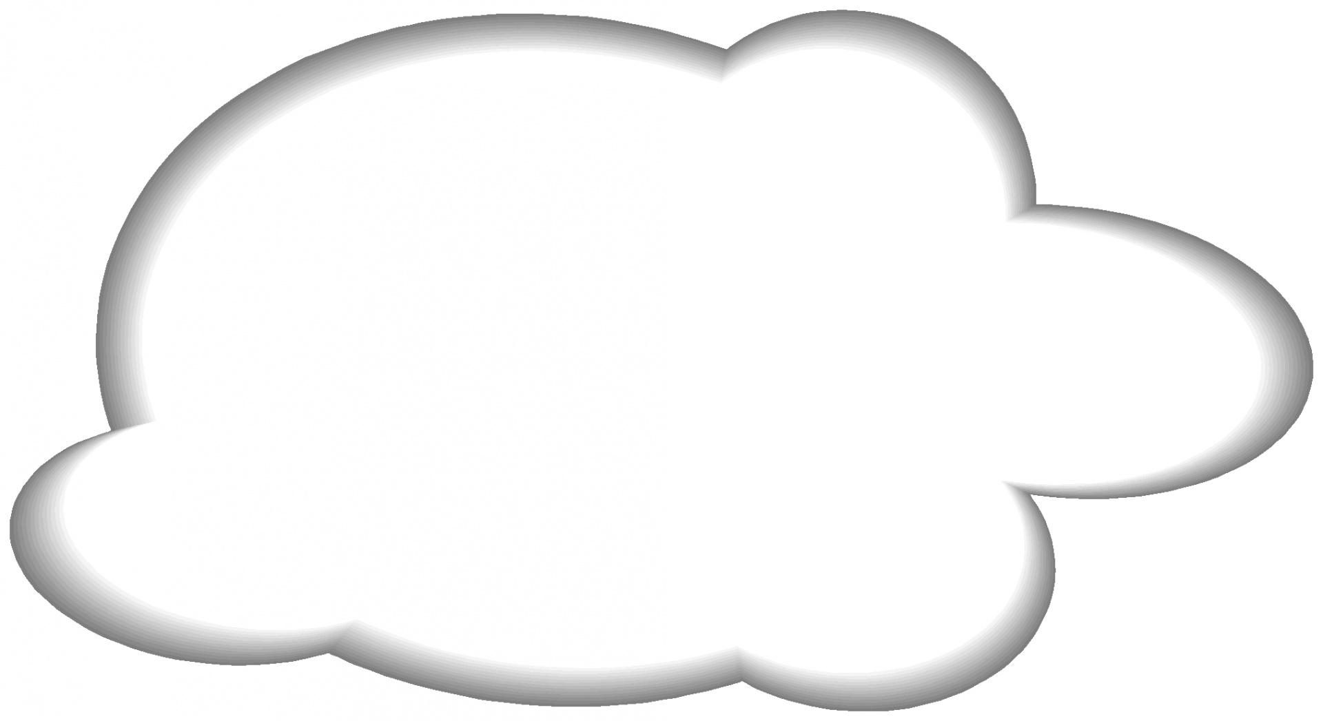 Белое облако на прозрачном фоне картинки