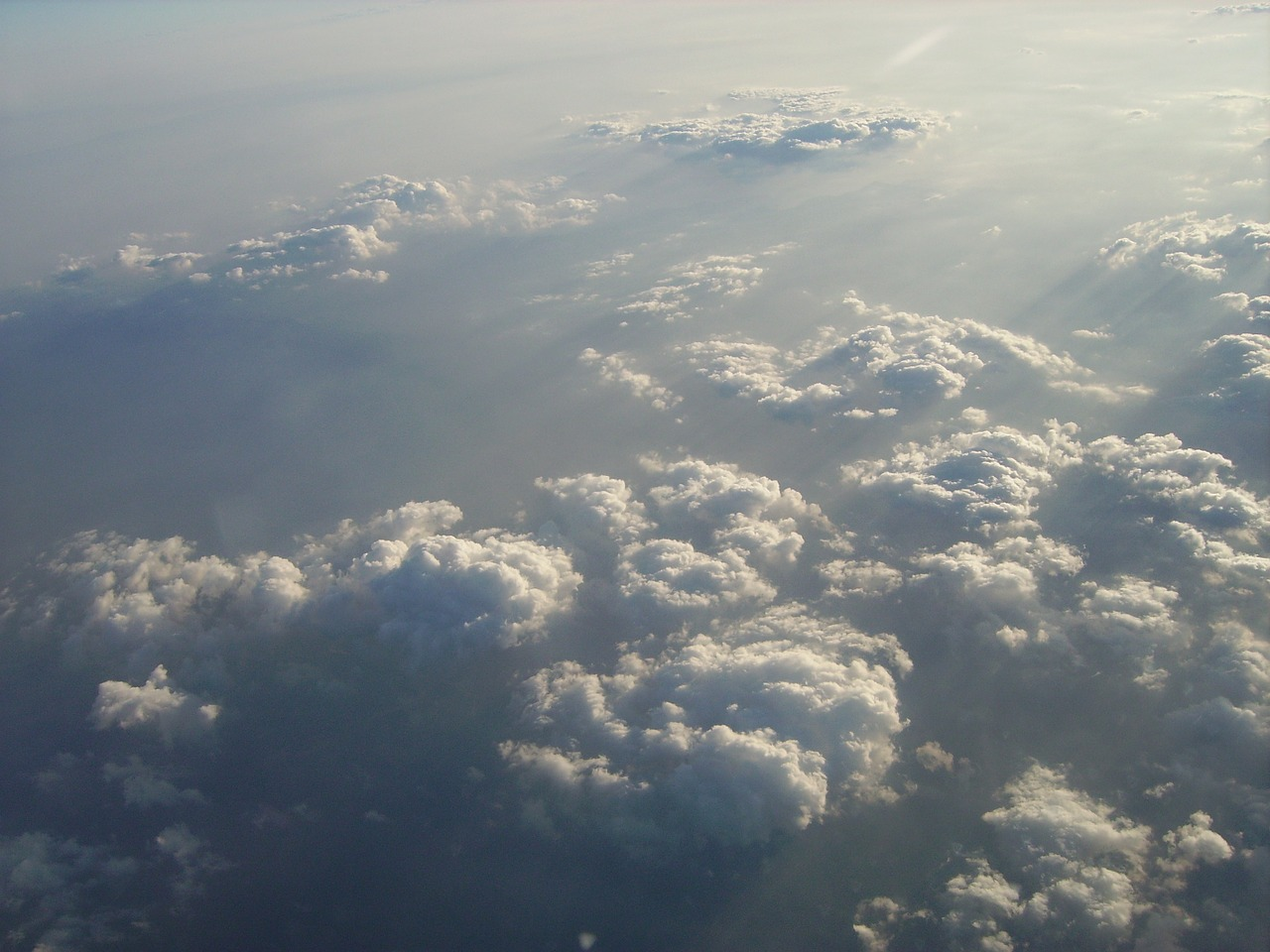 clouds above the clouds sky free photo