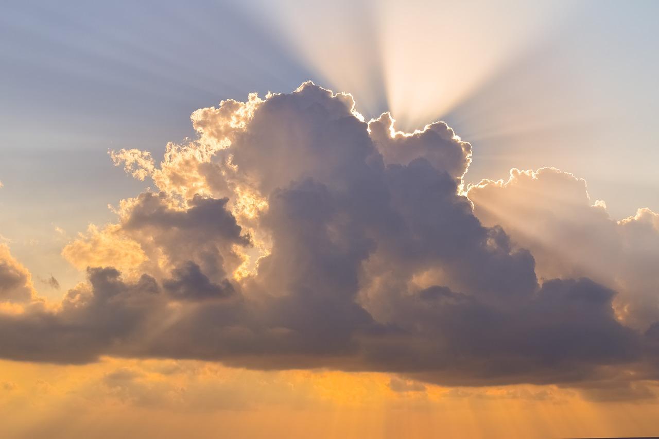 Clouds,sky,sunlight,sunbeam,sky clouds - free photo from needpix.com