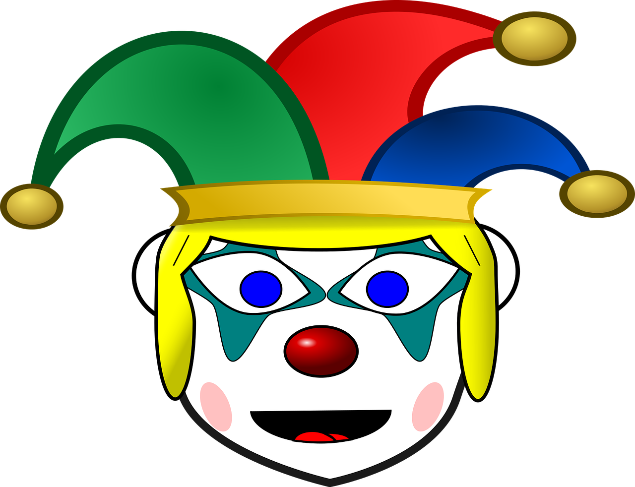 clown comic characters funny free photo