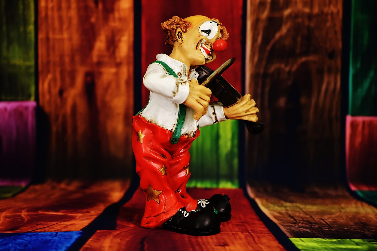 clown figure funny free photo