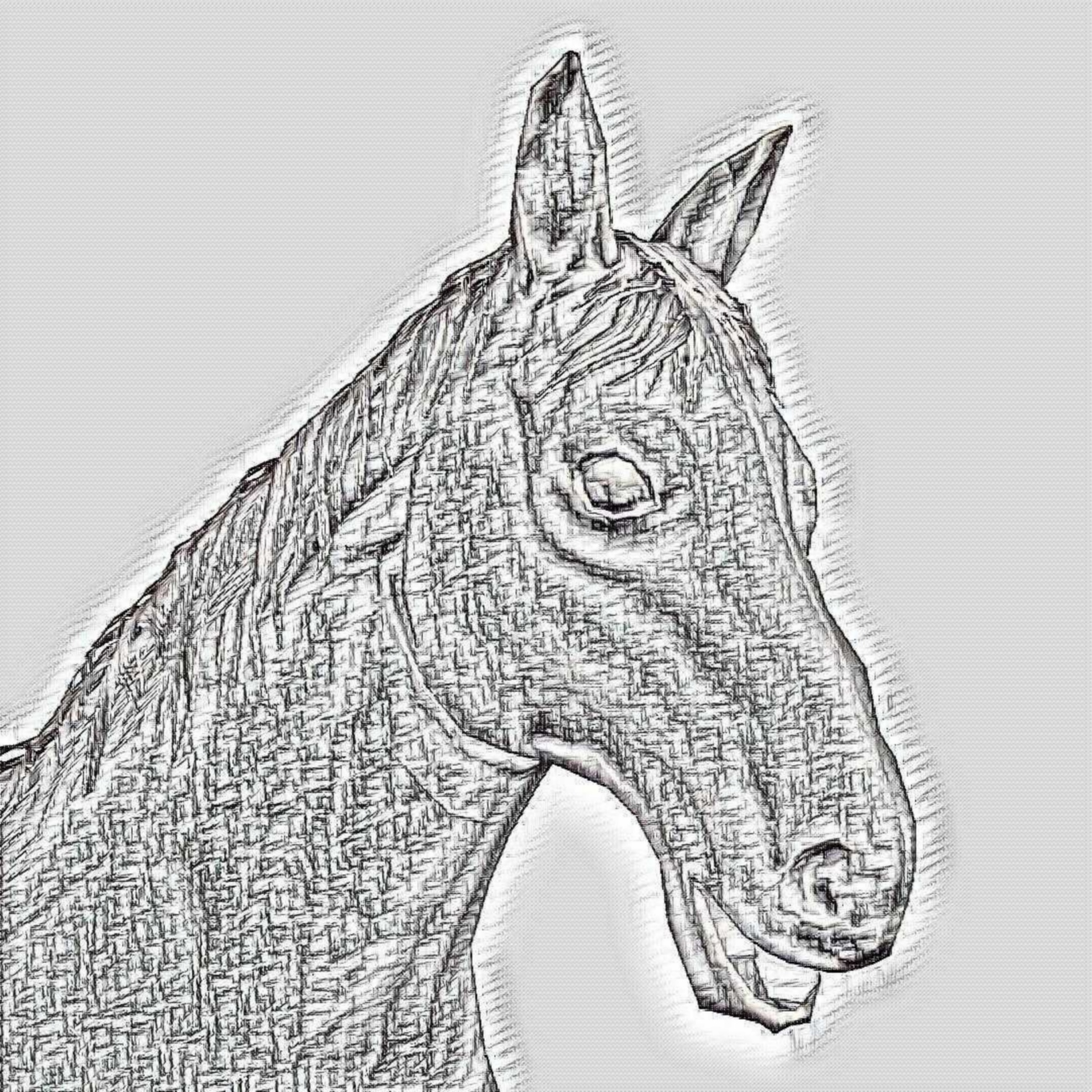 Clydesdale Horse Sketch Pencil Drawing Free Image From Needpix Com