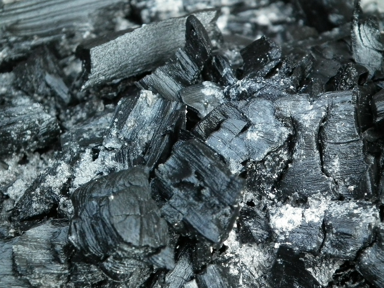 coal ash black free photo