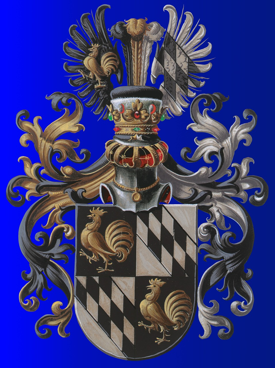 coat of arms european tradition free photo