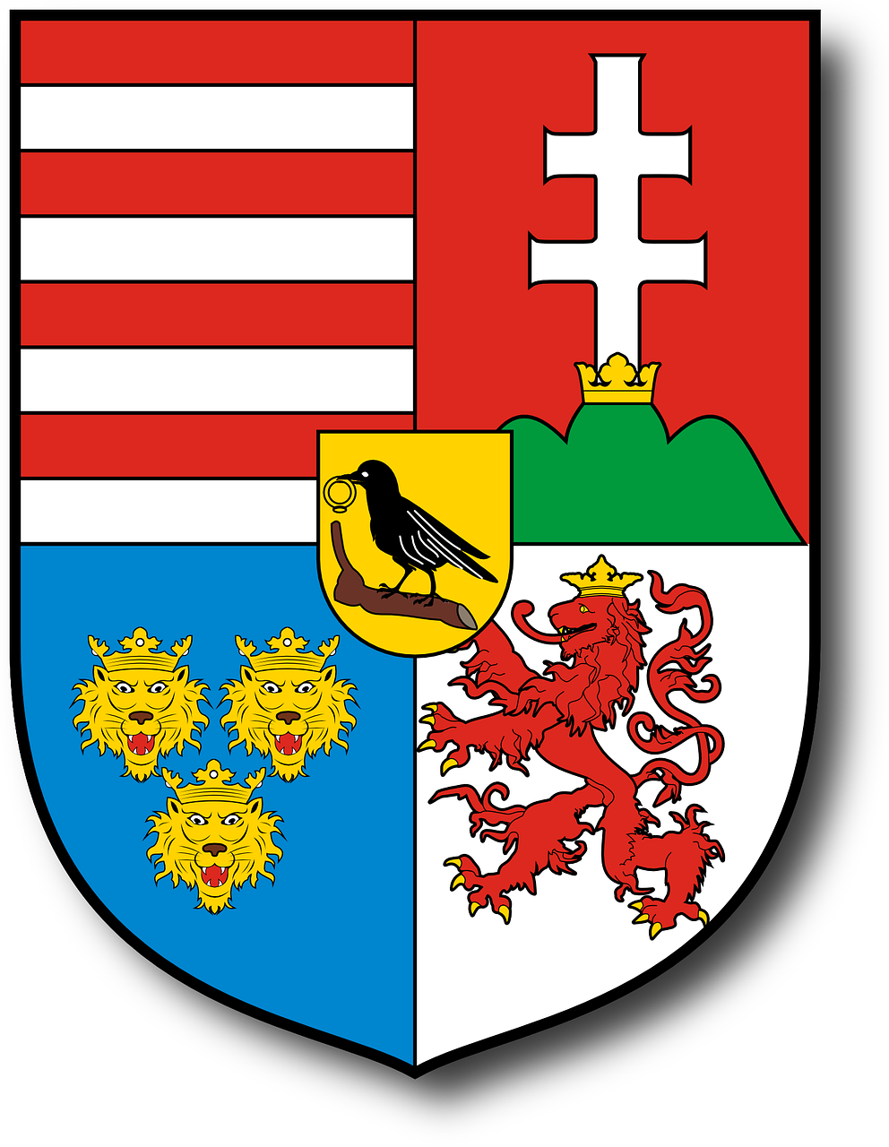 coat of arms hungary sheild free photo