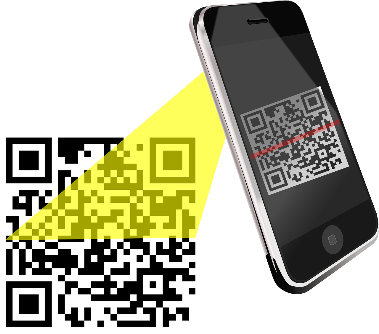 code,scan,qr-code,handy,phone,scanning,smartphone,quick response code,matrix barcode,barcode,two-dimensional barcode,free vector graphics,free pictures, free photos, free images, royalty free, free illustrations, public domain