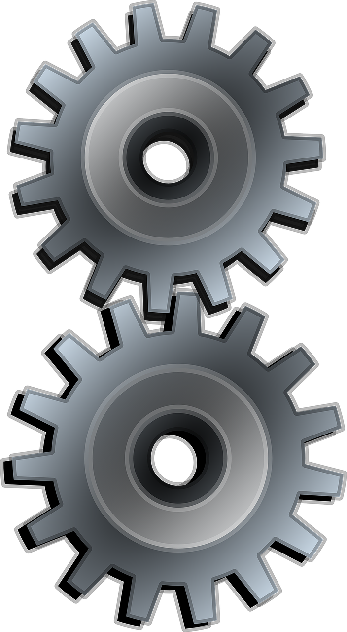 cogs gears industrial free photo