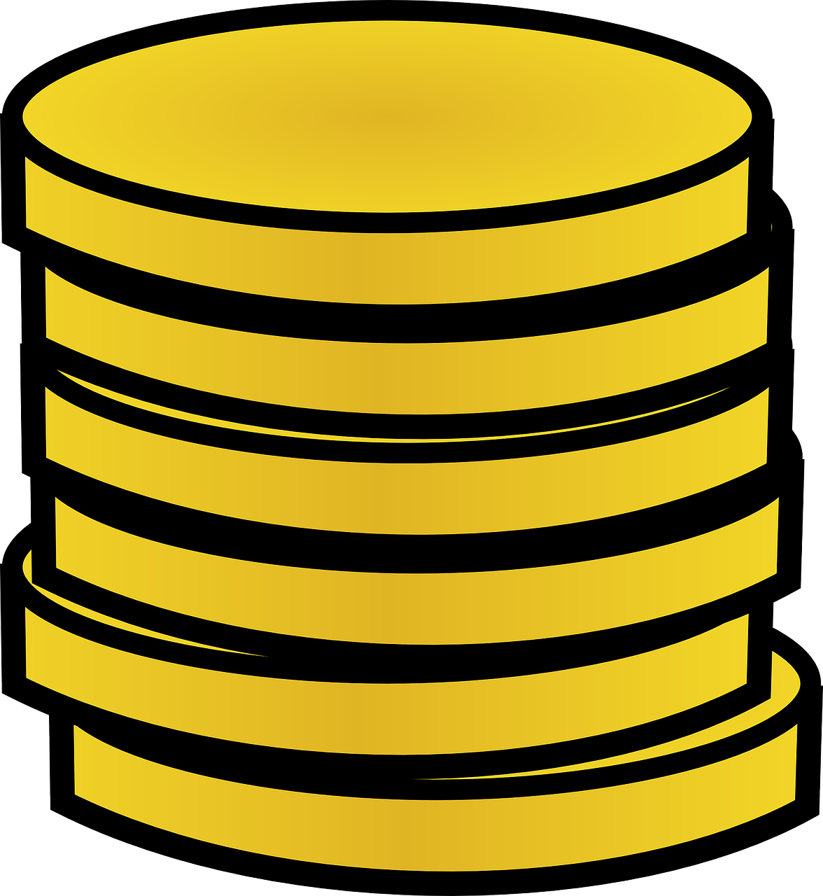 coins gold stack free photo