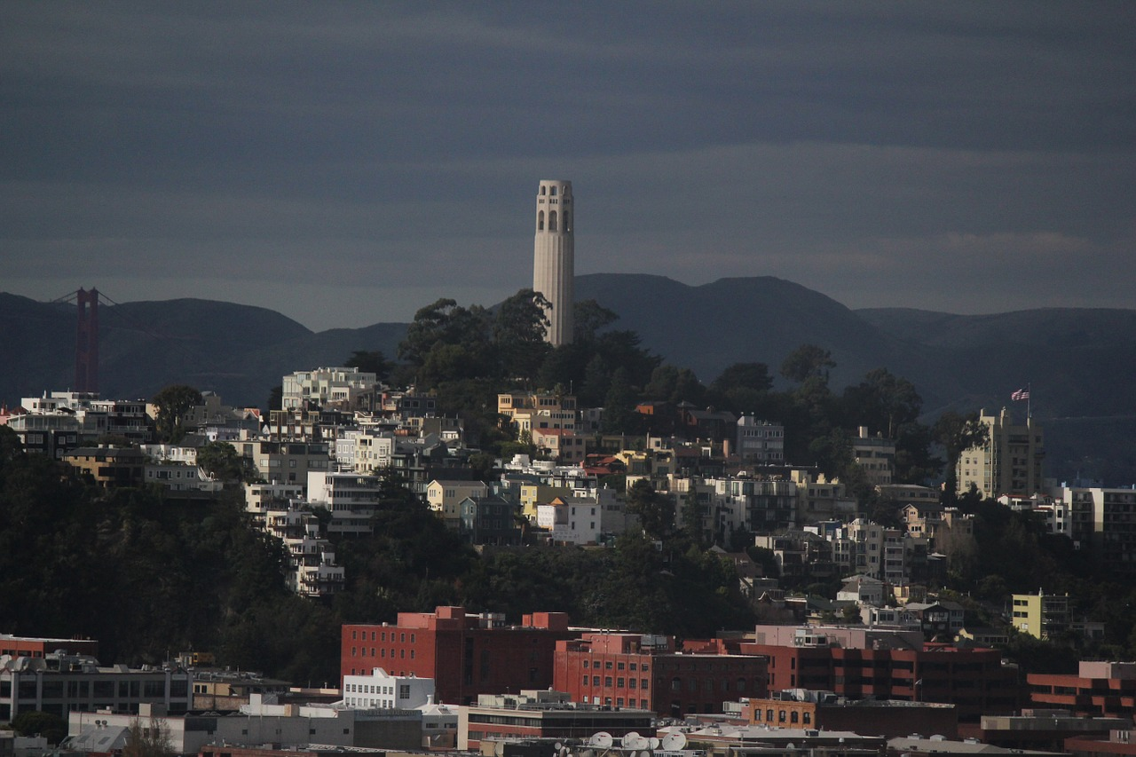 coit tower san francisco united states free photo