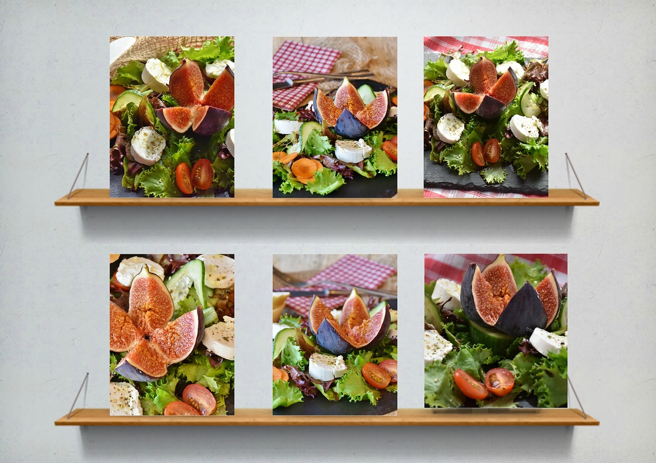 salad,figs,cheese,goat cheese,mixed salad,collage,starter,food,healthy,benefit from,fig fruit,delicious,frisch,supplement,eat,enjoy,lunch,dinner,snack,rich in vitamins,free pictures, free photos, free images, royalty free, free illustrations, public domain