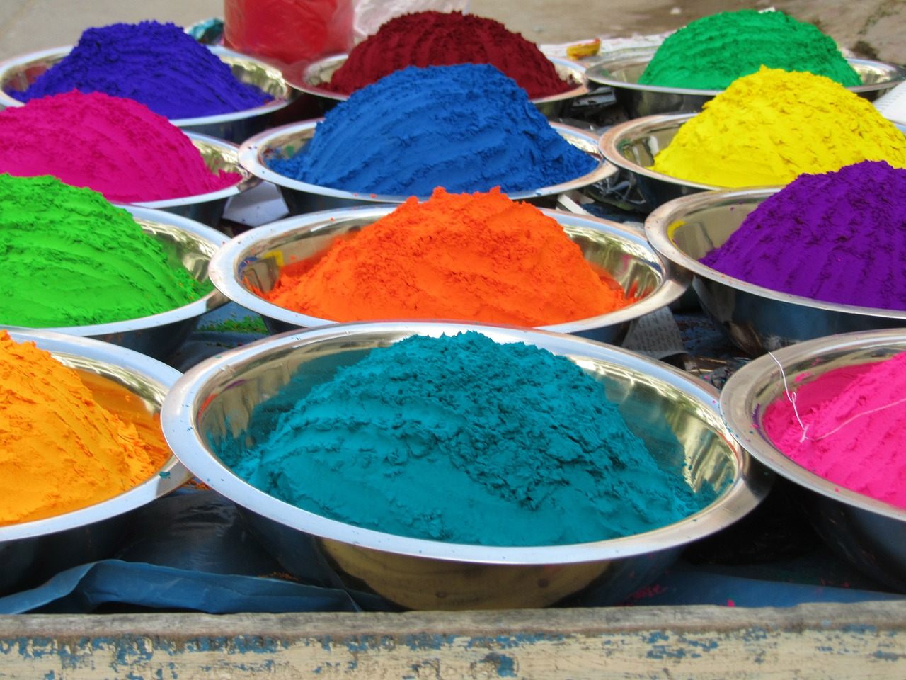 color chalk india free photo