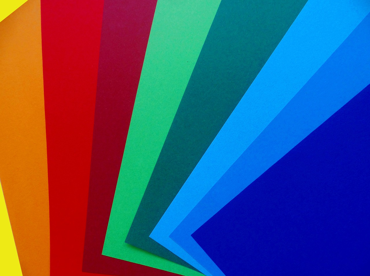 colored paper  paper  colorful free photo