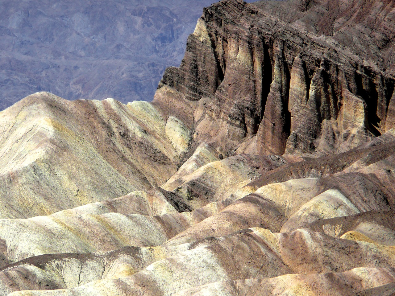 colorful mountains desert free photo