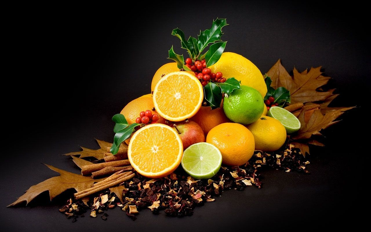 colorful fruits citrus free photo