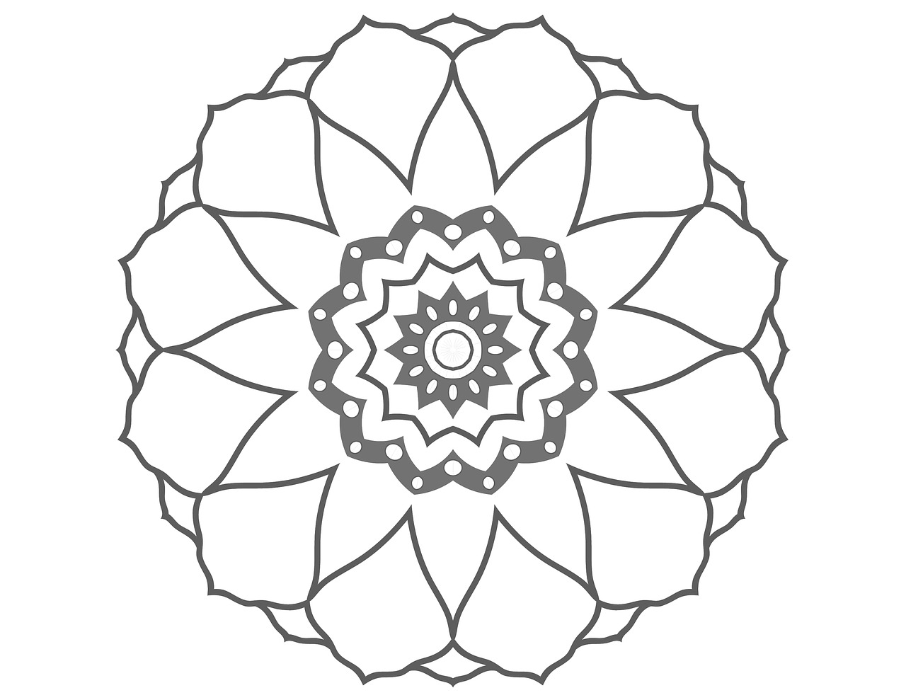 Hand drawn flowers for coloring pages for adults, a collection of ... | 989x1280