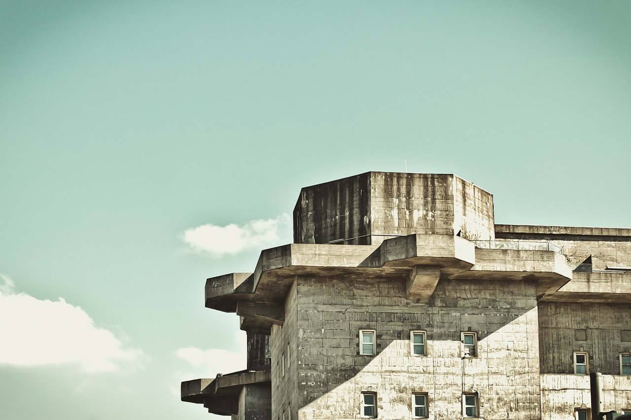 Concrete,building,fortress,stronghold,bunker - free image