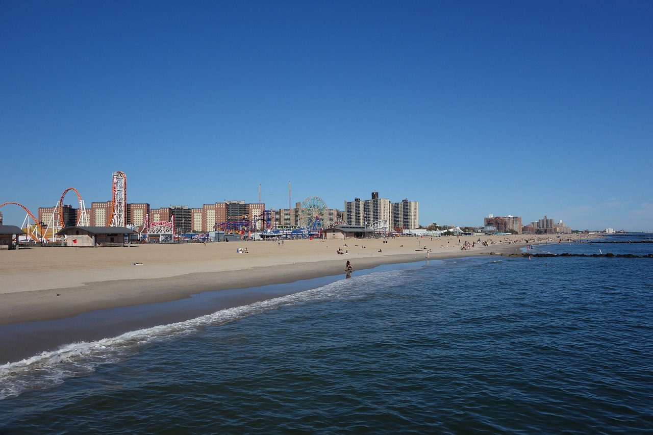 coney island new york brooklyn free photo