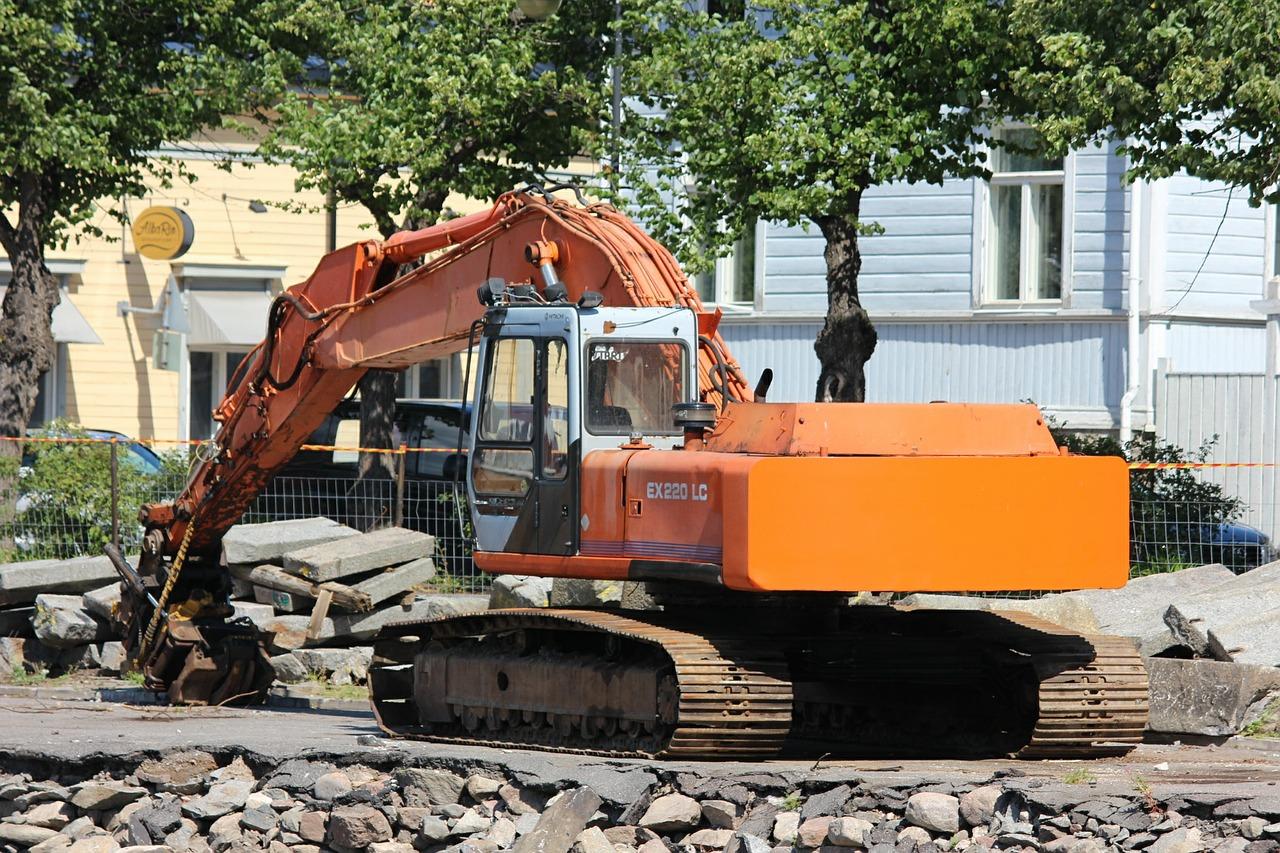 строительные машины фото это