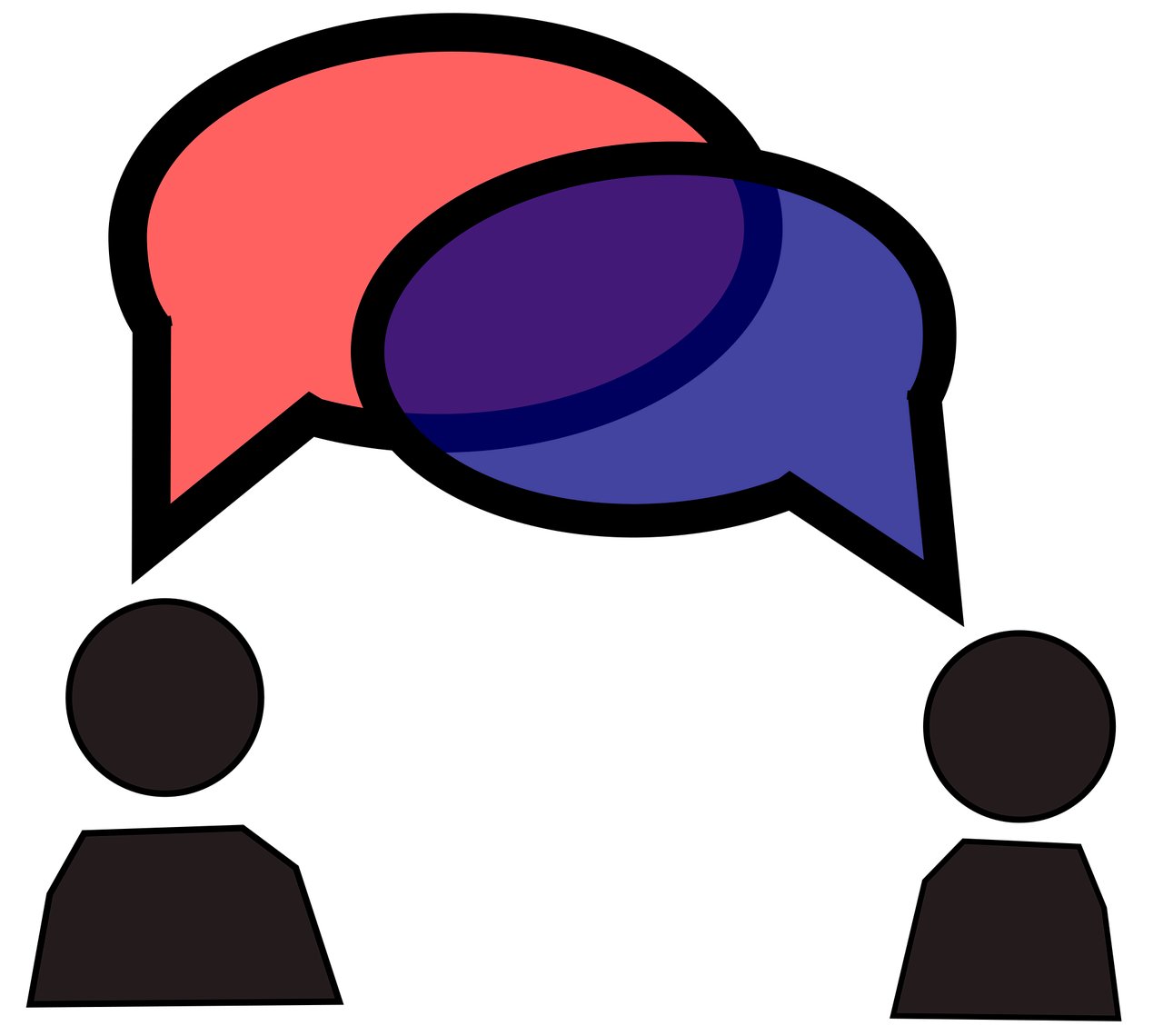 conversation dialogue interview icon communication