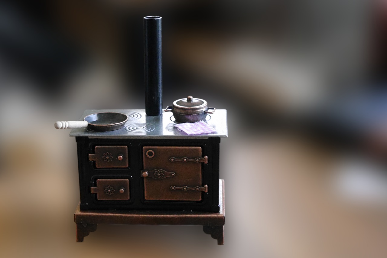 Cooker,coal Stove,old,stove,kitchen,cooking Zone,old Kitchen