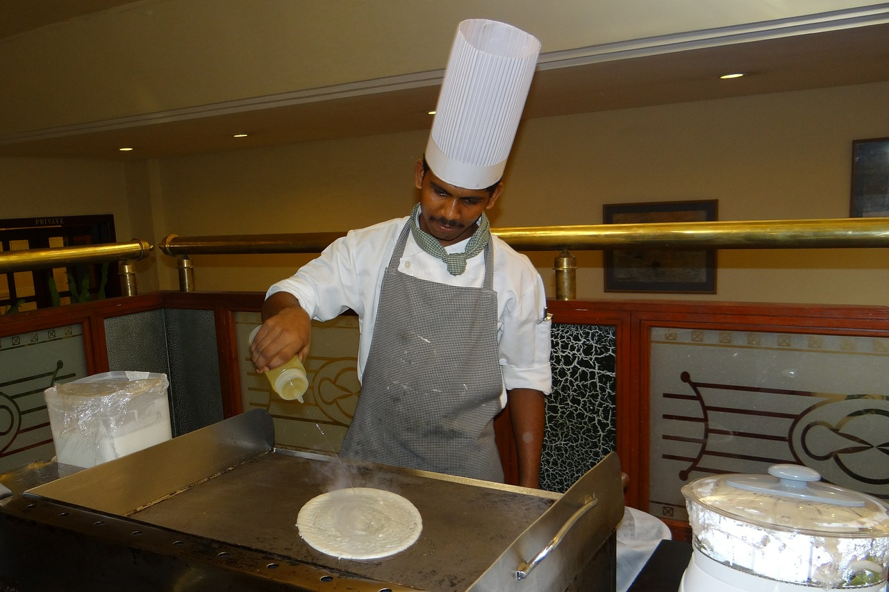 cooking cook dosa free photo